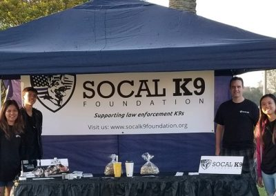 SoCal K9 Group Booth