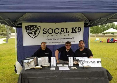 SoCal  K9 Booth